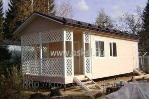 Проект дома-бани 4х12 м