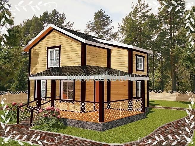 Каркасный дом Калевала