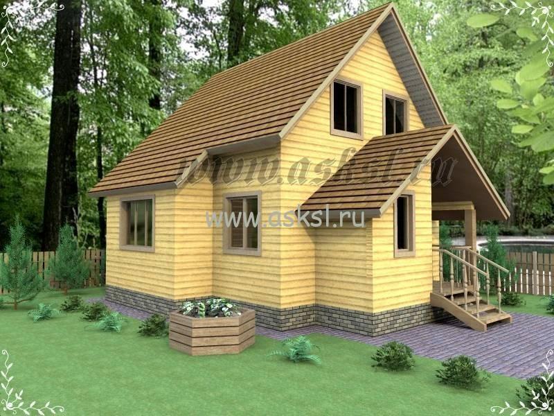 Дачные дома эконом класса, АСК Строитель