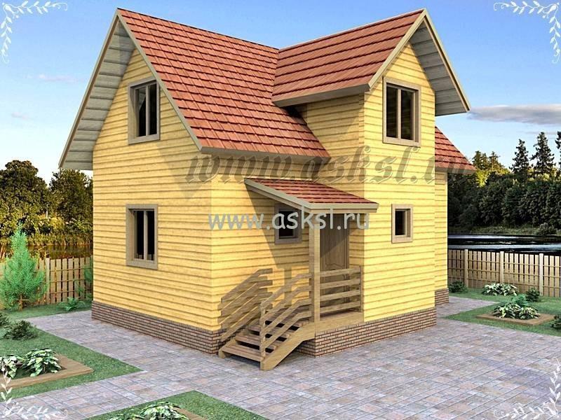 Дачный домик недорогой и комфортный под ключ