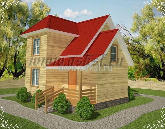 Дачный дом для всей семию уютный и не дорогой.