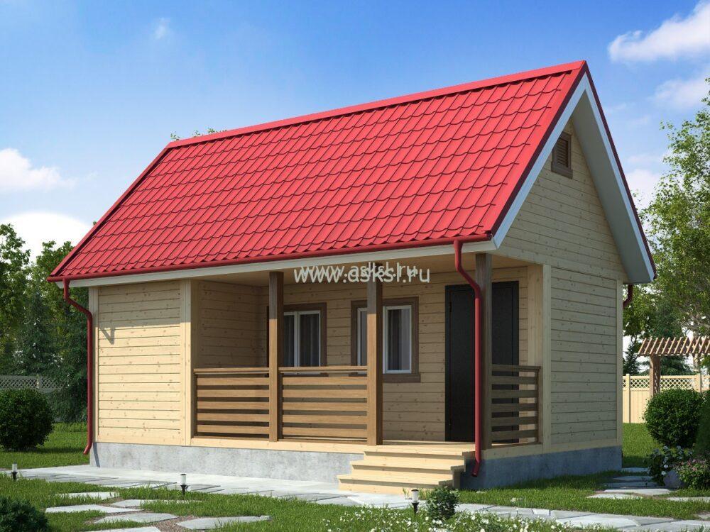 Фото каркасно-щитового дома ОД 4х7