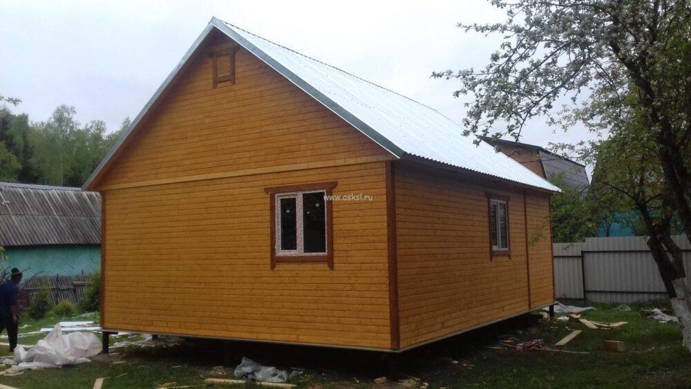 Каркасный дом ОДК 6х8 ТК