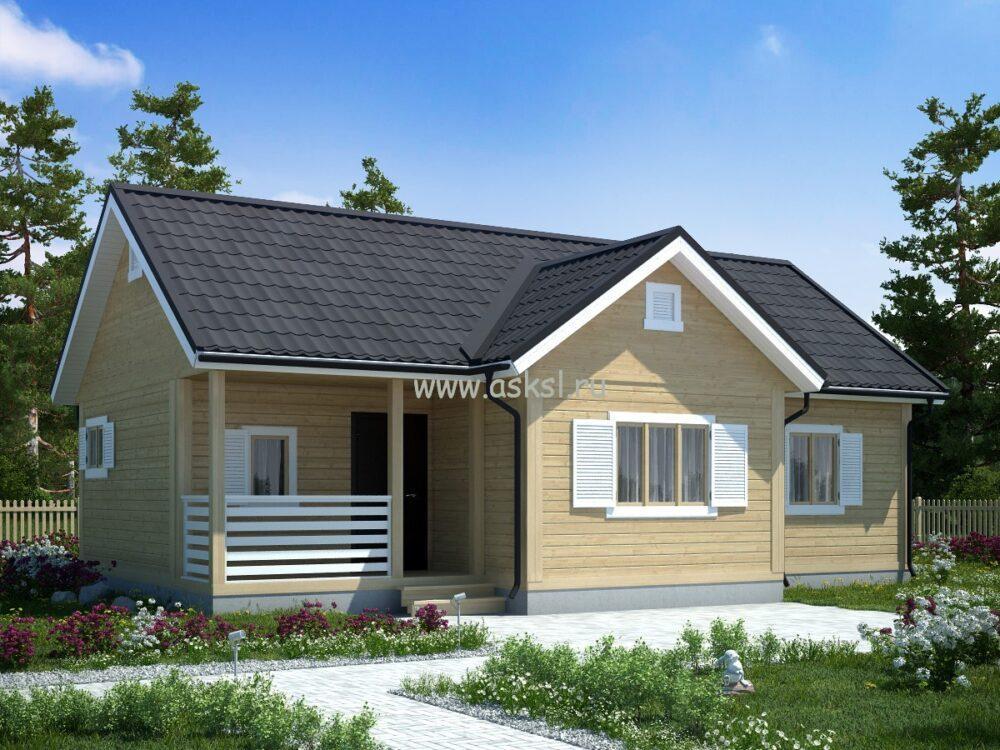 Каркасный дом ОДК 6х11 ТК