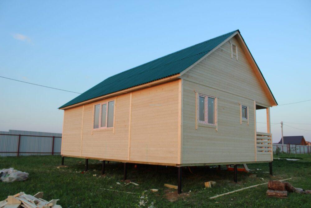 Каркасный дом ОДК 6х9 ТК