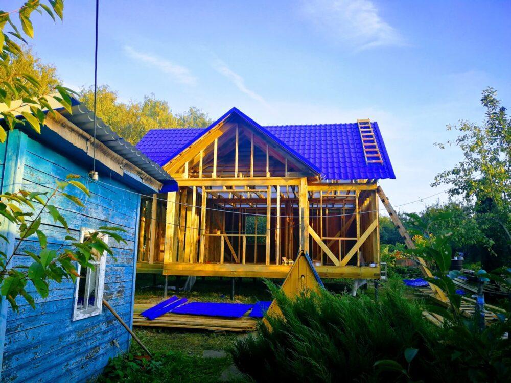 Фото каркасного дома ДДК 6х9 Т