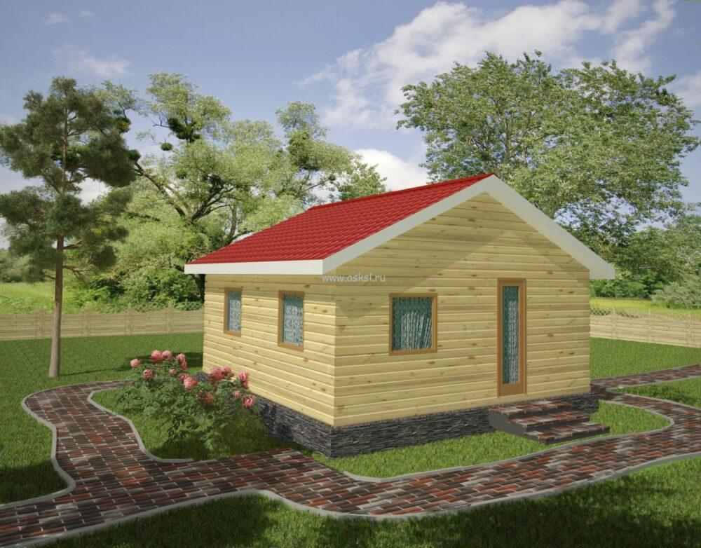 Каркасный дом ОДК 6х6