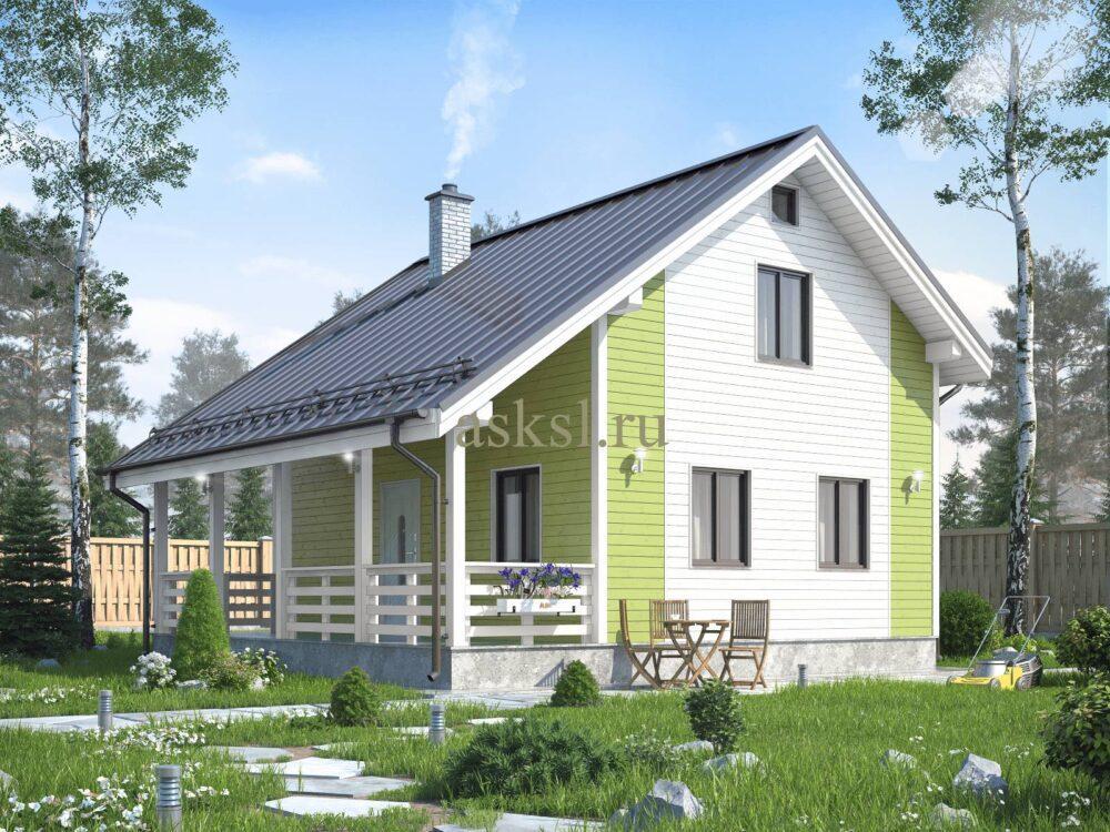 Фото каркасного дома Вуокса