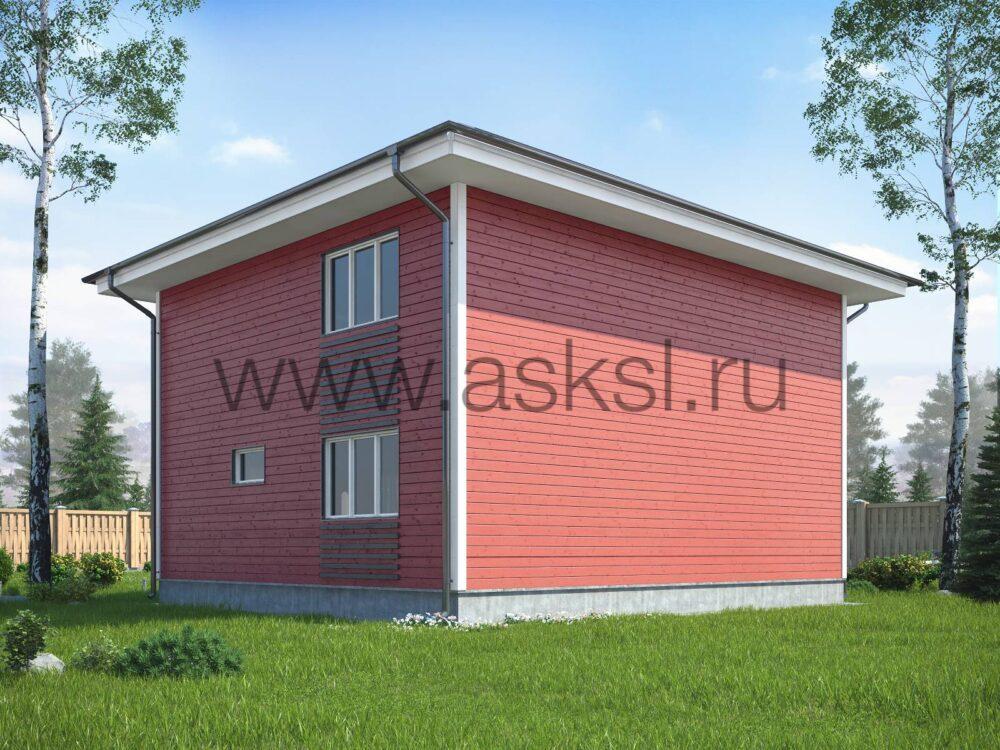 Каркасный дом ДДК 8х9 К
