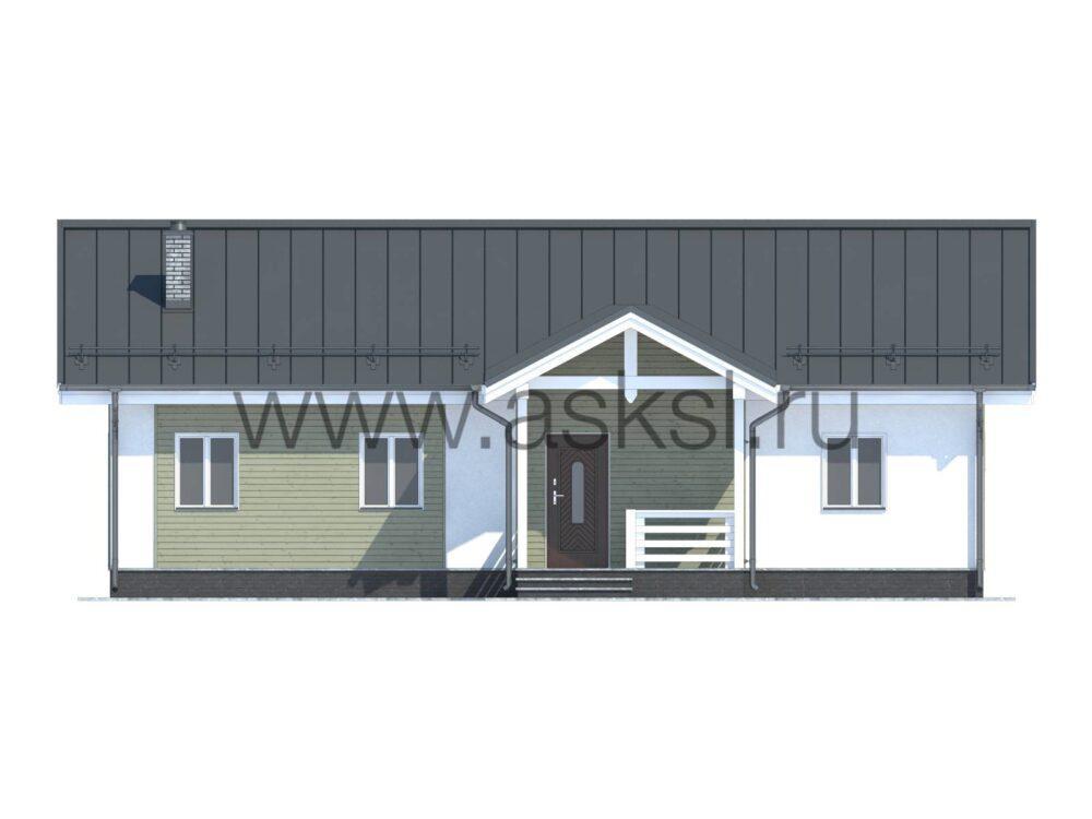 Каркасный дом ОДК 8,5х13,5