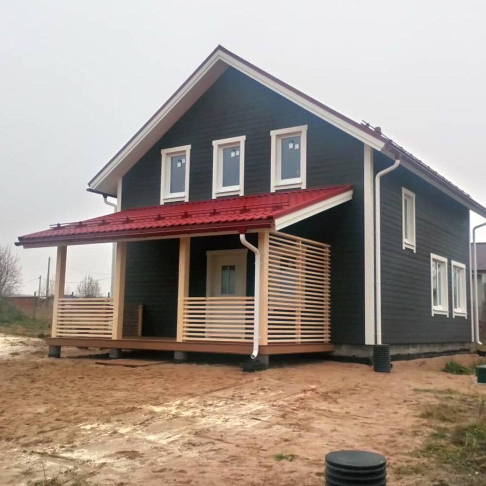 Фото финского каркасного дома