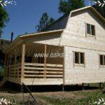 Каркасно-щитовой дом ДД 6х6 Т фото